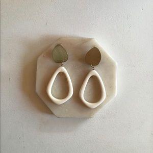 Bloomingdales Geometric Statement Earrings